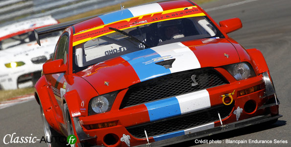 Ford Mustang team VDS Aventures
