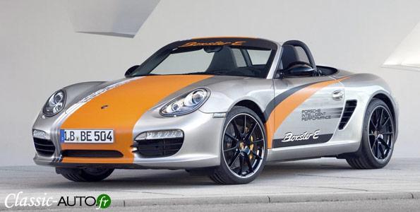 Porsche Boxster électrique