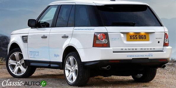 Genève 2011 : Range Rover avec le Range_e hybride