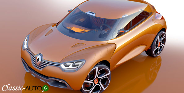 Renault Captur concept car