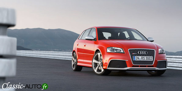 Genve 2011 : Audi RS3 Sportback