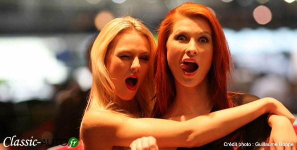 Hotesses au salon de Genève 2011