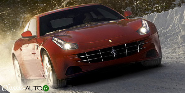 Nouvelle Ferrari FF