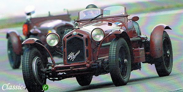 Alfa Romeo 8C MONZA Brianza de 1934