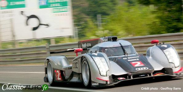 Audi R18 : débuts en compétiton à Spa