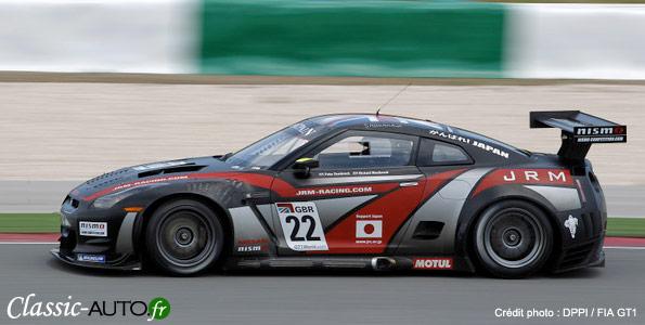 Nissan GTR de Westbrook et Dumbreck à Portmao (FIA GT1 2011)
