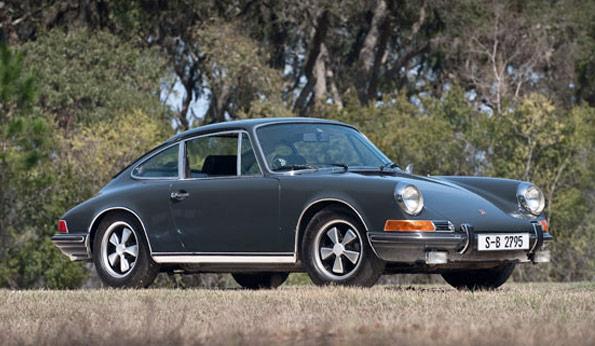 La Porsche 911S de Steve McQueen en vente !