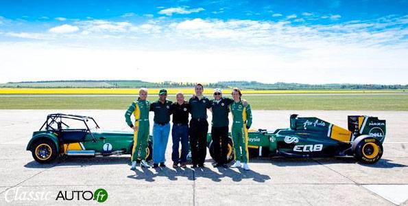 Caterham est désormais la propriété du Team Lotus