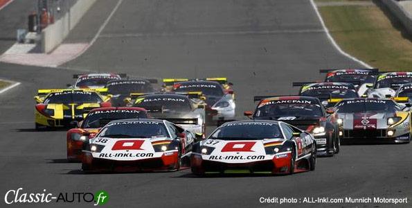 Lamborghini domine le FIA GT1 à Navarra