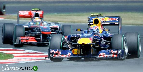Grand Prix F1 de Silverstone avec les nouveaux stands