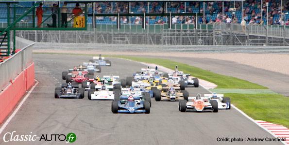 Formule 1 : 100 F1 Historiques en piste à Silverstone