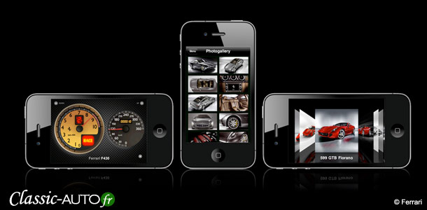 "Application iPhone Ferrari ""Ferrari Sound"""