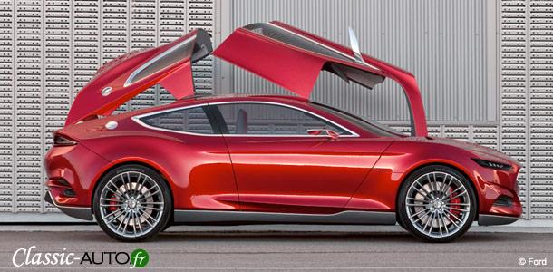 Ford Evos, le futur du design chez Ford