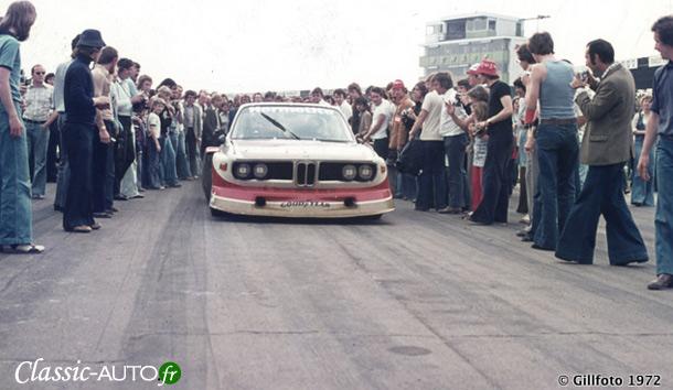 BMW victorieuse de la première édition en 1976