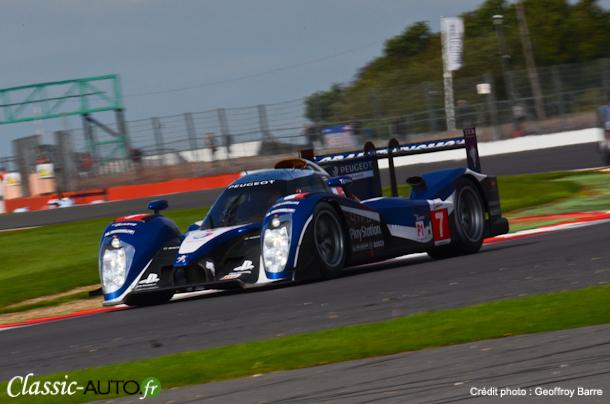 Peugeot devant aux essais libres des 6 Heures de Silverstone