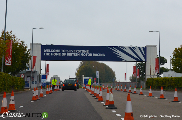 Bienvenue  Silverstone