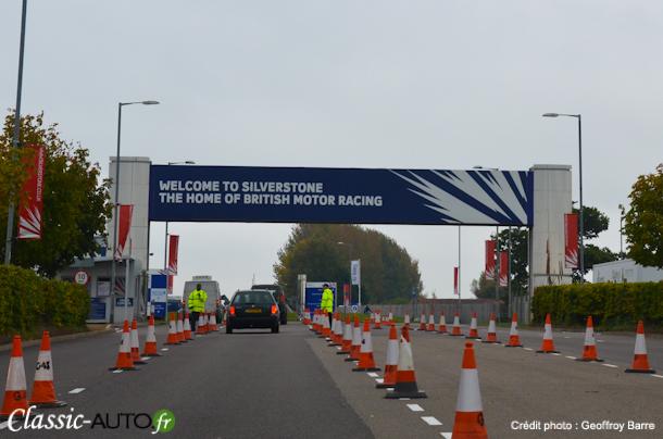 Bienvenue à Silverstone