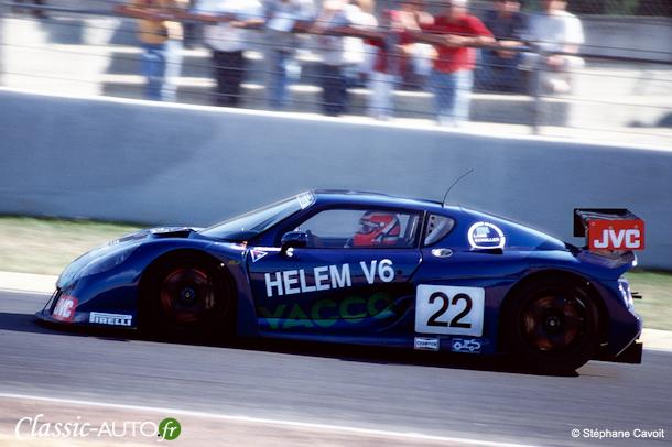 Helem V6 à l'assaut du Dunlop (préliminaires Le Mans 1997)
