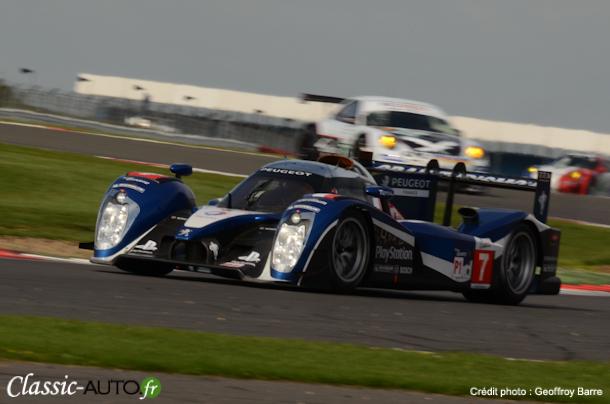 Peugeot en pole position des 1000km de Silverstone 2011