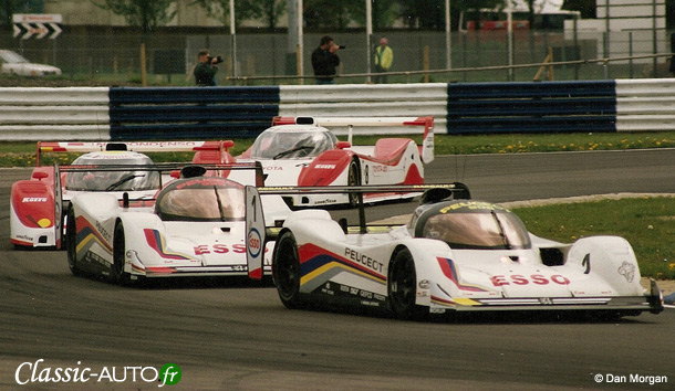 Peugeot est le dernier vainqueur de l'ère des Group C