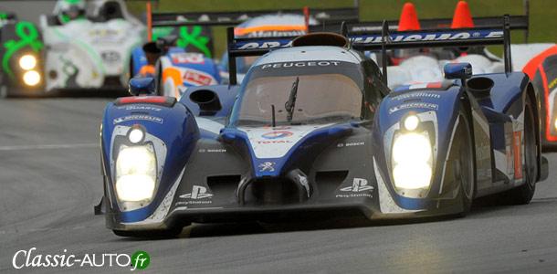 Petit Le Mans 2011 : Peugeot en pole position