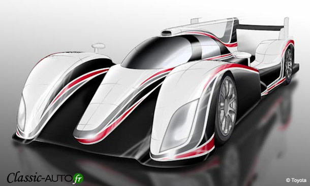 Toyota de retour aux 24 Heures du Mans 2012 avec une hybride !