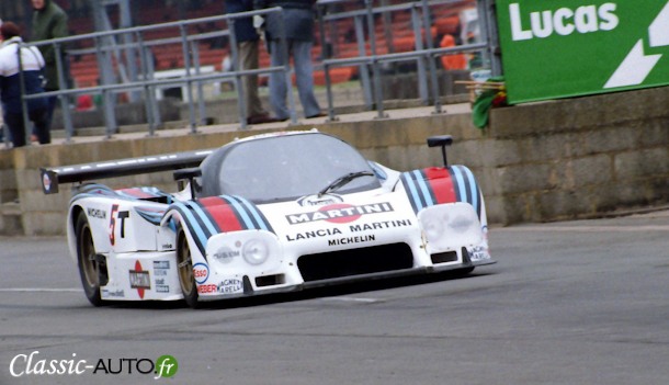 Lancia LC2 de Bob Wollek et Mauro Baldi