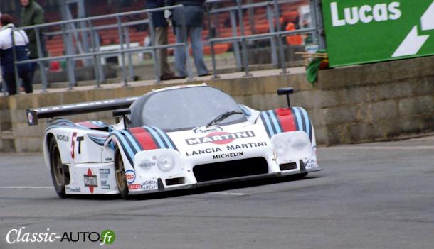 Lancia LC2 de Bob Wollek et Mauro Baldi