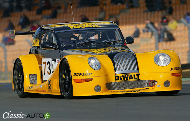 Morgan Aero 8 aux 24 Heures du Mans 2002