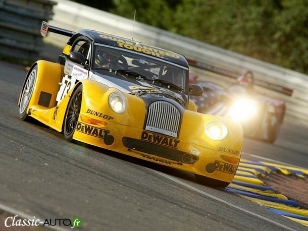 Histoire // Morgan, le retour aux 24 Heures du Mans 2002