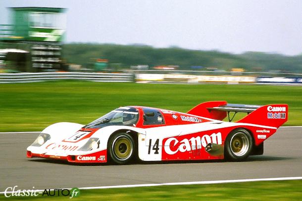 Porsche 956 de Jonathan Palmer et Jan Lammers