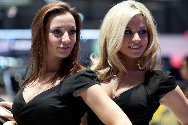Hotesses au Salon de Genève 2012