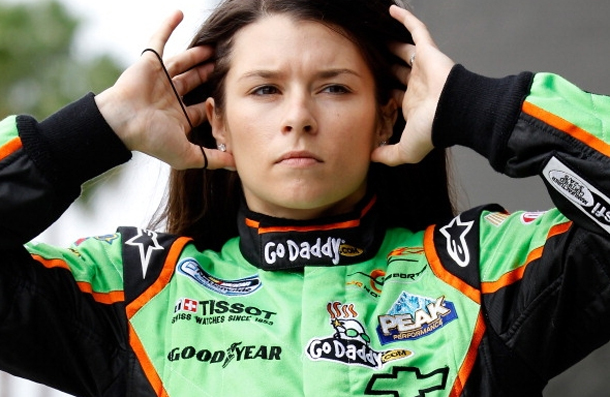 Danica Patrick fait ses dbuts en 2012 en Nascar