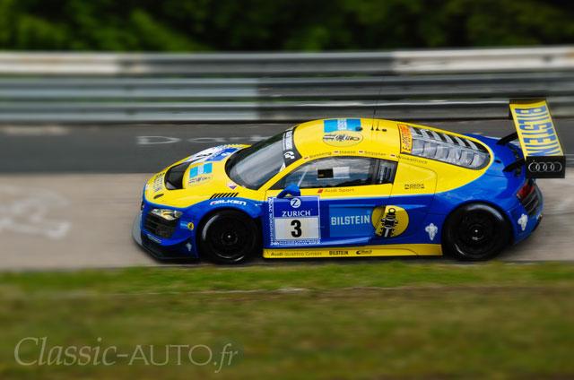 Audi R8 LMS du Team Phoenix victorieuse des 24 Heures du Nurburgring