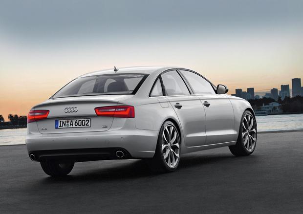L'Audi A6 avec le système quattro et une boite 8 vitesses en 2013
