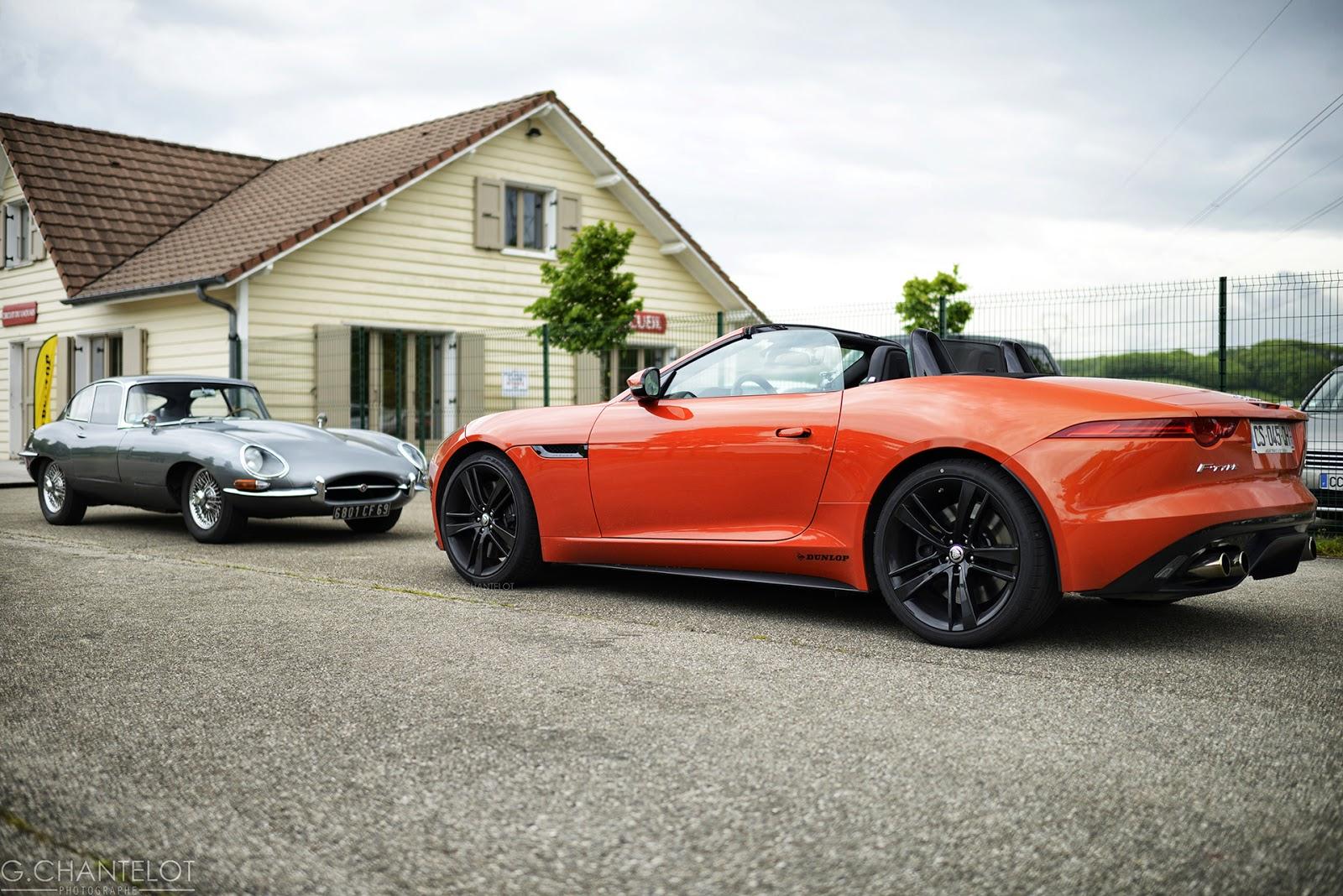 Essai Jaguar Type F, la descendante de la Type E