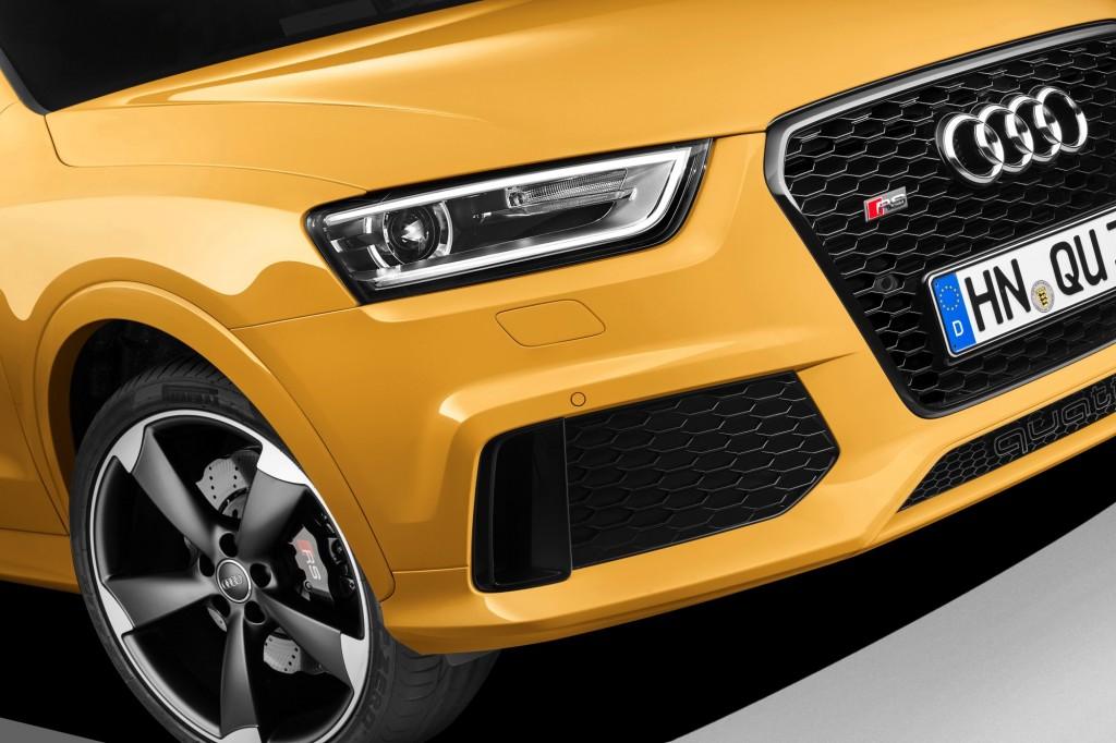 Audi RS Q3 : les images du SUV musclé de chez Audi