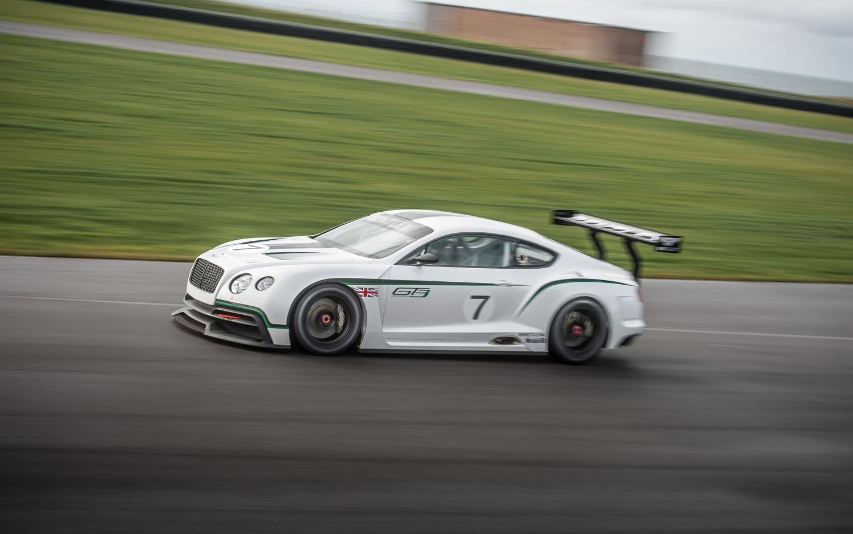Bentley Continental GT3 : débuts aux Gulf 12 Hours