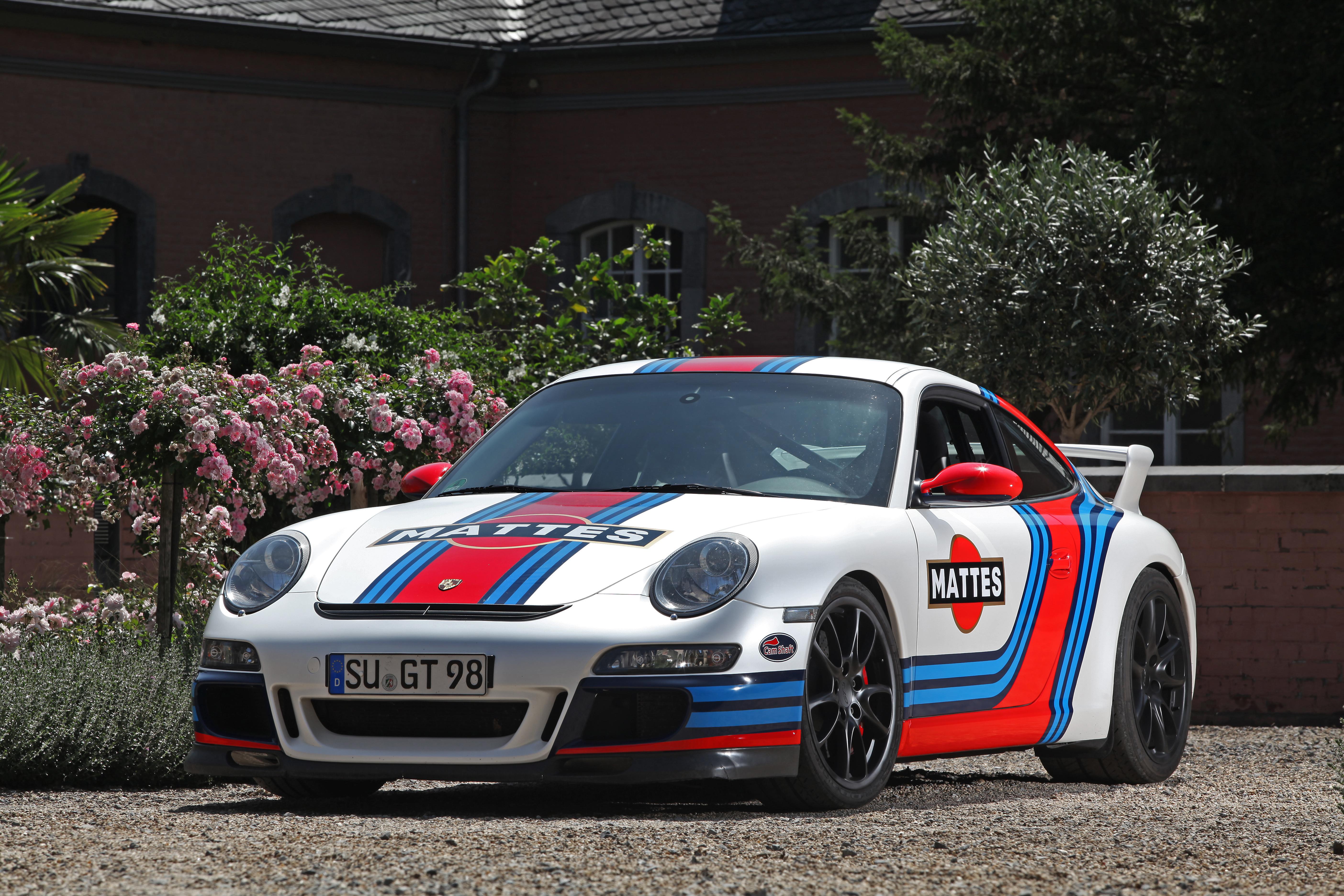 Porsche 911 GT3 «Martini» par Cam-Shaft