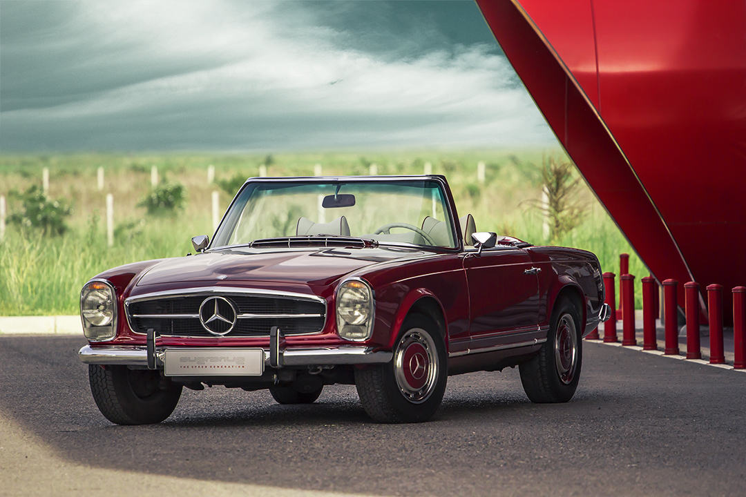 Restauration : Mercedes 280SL de 1969 par Overdrive
