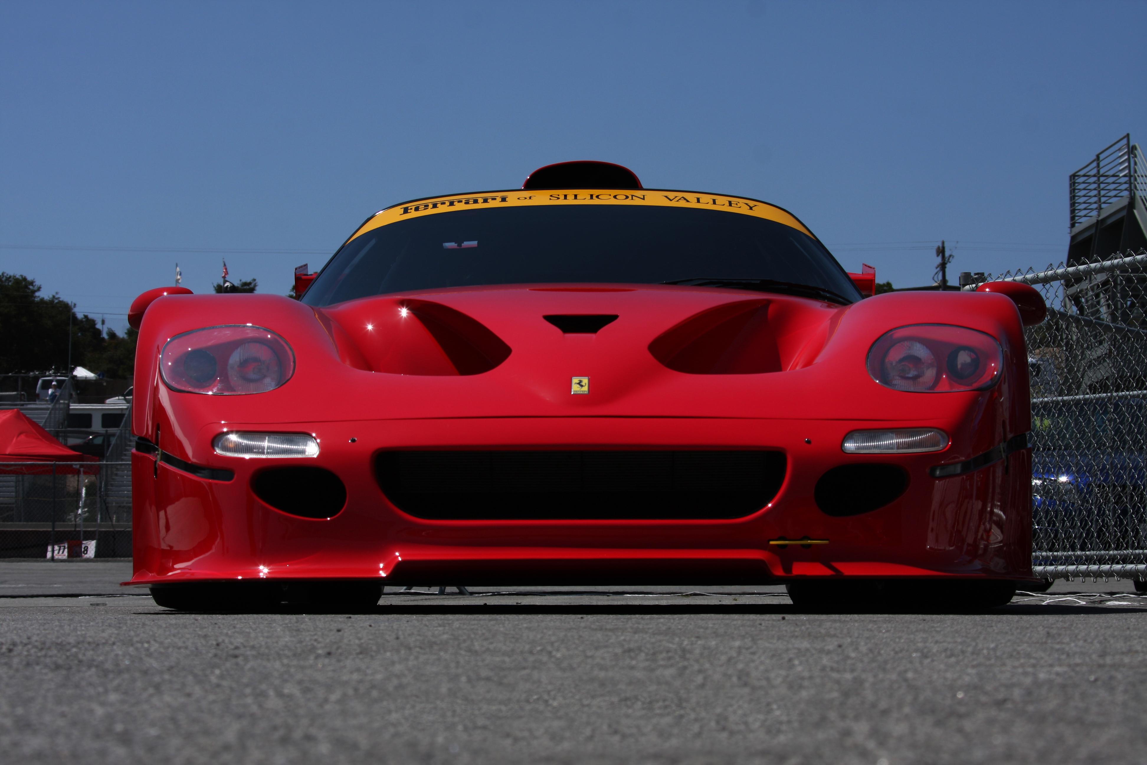Ferrari F50 GT1 : celle qui devait gagner Le Mans