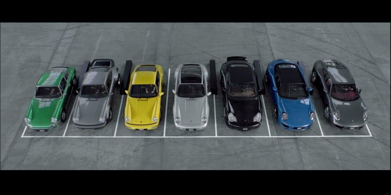 La symphonie des Porsche 911 (vidéo + jeu)