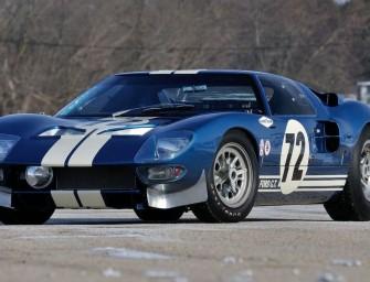 7 millions de dollars pour l'une des plus vieilles Ford GT40