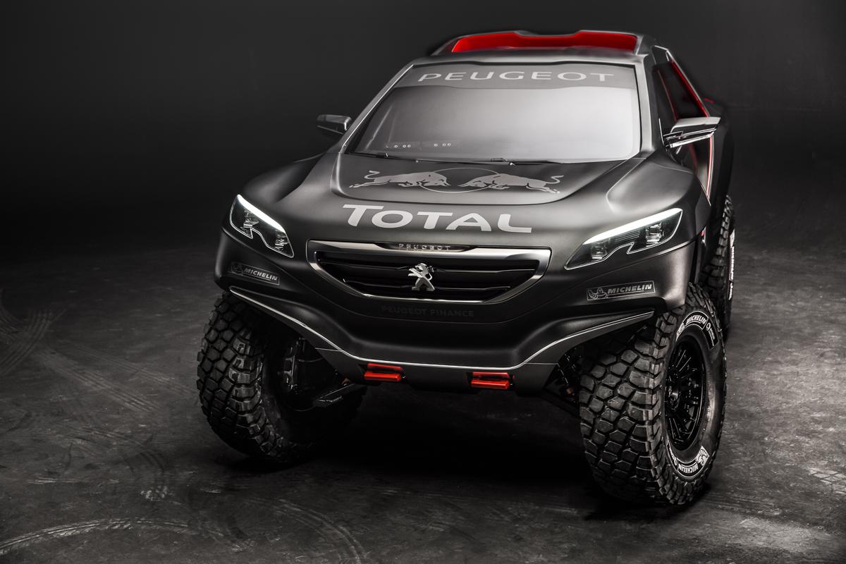Peugeot 2008 DKR : les premières images officielles