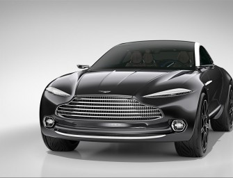 Aston Martin DBX Concept, le futur des GT de luxe par Aston Martin