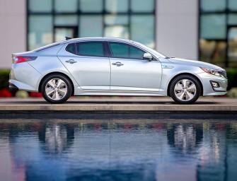 La Kia Optima, une familiale à moteur hybride diesel