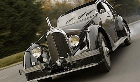 L'Aérdyne C25 voulait concurrencer la Bugatti Type 57 Galibier