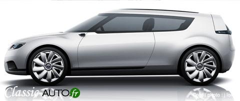 A quoi ressemblera la future Saab 9-1 ?