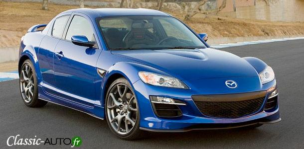 Fin de la production pour la Mazda RX8